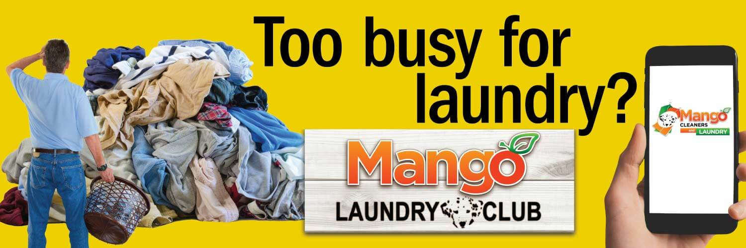 Too busy for laundry?