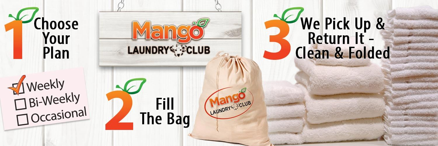 mango laundry club steps
